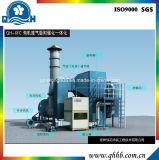 Adsorbente-Catálisis del producto de la integración con el tipo de Szh para ocuparse del gas inútil orgánico