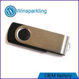 El disco más barato de memoria Flash del USB de la memoria del USB del eslabón giratorio