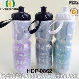 Настраиваемые 650мл Изолированные двойные стенки пластиковые спорта бутылка воды