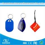 13.56MHz Schlüsselmarke der HF-NFC Zugriffssteuerung-RFID Keychain Keyfob