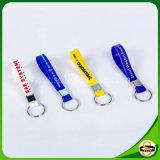 Kundenspezifisches Firmenzeichen-Silikon-Schlüsselkette für Förderung-Geschenke