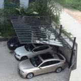 Personnalisés cantilever en aluminium Retour Modèle Pull parasol Abri de voiture