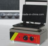 6 PC mini commerciale Gaufrier coquille de forme Making Machine à gaufres