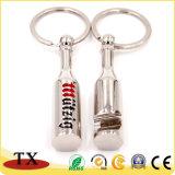 Items del regalo del abrelatas de botella de la dimensión de una variable de la botella del metal con el encadenamiento dominante