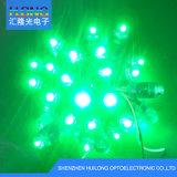 Groene Kleur 12mm Lichten van het LEIDENE de Enige Pixel van de Kleur