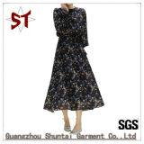 señora elegante Street Long Dress de la venta 2017hot