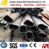 Q235 geschweißtes GB/T-13793 Kohlenstoffstahl-Rohr-anormale Form-Stahlrohr