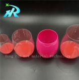 copos plásticos do vidro de vinho de 18oz Tritan no volume