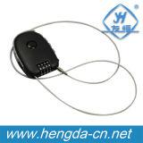 Fil souple escamotable combinaison verrou de câble (YH9933)