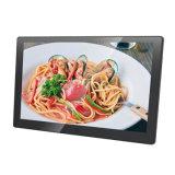 상점 전시를 위한 좁은 프레임 10.1 인치 HD LCD 인조 인간 광고 선수