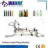 Máquina de rellenar de la bebida automática principal semi sola para el perfume del agua