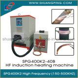 máquina de calefacción de alta frecuencia de inducción 200-500kHz 40kw Spg400K2-40b
