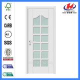 Internes hölzernes Glas-beeindruckende weiße französische Türen (JHK-G28)