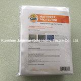 100% fodera per materassi impermeabile lavorata a maglia poliestere della chiusura lampo del doppio del tessuto 95GSM