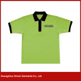 Wholesale Unisex Promotional Collar Tee shirt for Advertizing (P113)