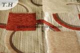 El patrón geométrico tejido chenilla sofá diseñado por el diseñador chino