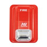 Lampada del segnalatore d'incendio di incendio con il ricevitore acustico dello stroboscopio