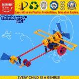 Educação pré-escolar de bricolage interior de plástico brinquedo de helicóptero