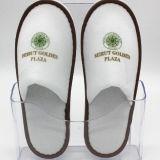 男女兼用の使い捨て可能なスリッパの閉じるつま先の鉱泉の平らな靴