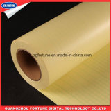 Pellicola fredda della laminazione del PVC del documento giallo superiore della protezione