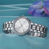 Edelstahl-Uhr-Geschenk-Uhr mit Unisexgroßhandelsuhr (Wy-019C)