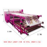 Rodillo de calentamiento de aceite automático tela sublimación Prensa de transferencia de calor de la máquina de impresión