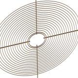 Хорошее качество оцинкованной защитный кожух вентилятора 200 мм вентилятор