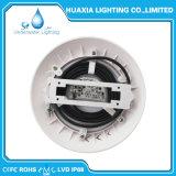 Lampe sous-marine remplie par résine fixée au mur en gros de piscine d'éclairage LED