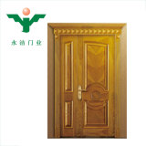 Portello di legno dell'arco del teck solido di prezzi del portello della stanza dello Zhejiang dei 2018 nuovi prodotti