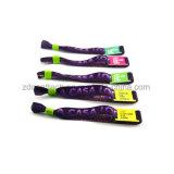 Tissu coloré personnalisé Bracelet Bracelet tissé pour des événements