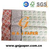 Unterschiedliches Größen-Soem gedrucktes lichtdurchlässiges Verpackungs-Papier für Großverkauf