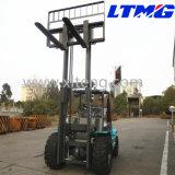 Китайское новое тавро грузоподъемник местности 3.5 тонн грубый
