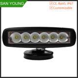 18W de la barra de luz LED de trabajo 1530 lm 12V DC para Turcks