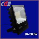 LEDのフラッドランプのクリー族の穂軸防水100With150With200W LEDのフラッドライト屋外LEDの照明LED洪水ライト