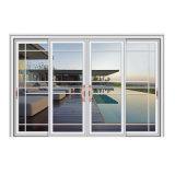 Раздвижная дверь высокого качества рамки американского типа алюминиевая