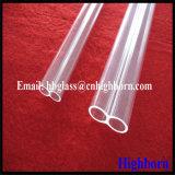 Doppeltes Loch-fixierter Quarz-Glas-Rohr