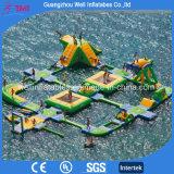 販売のための2017年の浮遊巨大で膨脹可能な水公園装置のゲームの水のおもちゃ