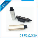 LED 가벼운 E 담배 Vax 공기 건조한 나물 기화기는 주문 로고를 받아들인다