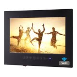 """19"""" negro Android WiFi baño TV TV LED impermeable"""