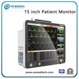 15''Multi-Parameters exibição widescreen portátil médico ao Hospital do Monitor de pacientes