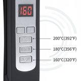 Het natte Droge Vlakke Ijzer van het Haar, LCD Digitale Vertoning 450f, AC 100V-240V het Koord van de Wartel