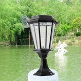 Luz solar del jardín de la iluminación de la luz solar al aire libre del pilar