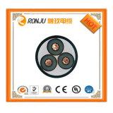 구리 Conductor/XLPE 절연제 또는 강철 테이프 Armored/PVC 외부 칼집 고압선 3*25/70/95mm2