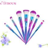 7pcs el Mejor Precio colorido Unicorn pincel de maquillaje set de cosméticos