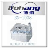 Bonaiの自動予備品VW/a Udiオイルクーラーかラジエーター(038 117 021E)