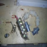 Pompe concrète de la mousse Ihp65 légère