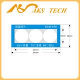 異常な熱を検出するためのハイテクな温度の敏感なステッカー