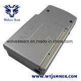 銀色の小型携帯用携帯電話及びGPSの妨害機(GSM、CDMA、DCS、GPS)