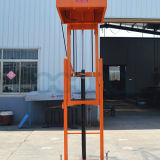 Mastros aéreos móveis triplicar-se da máquina desbastadora conservada em estoque para 3.5/4.0/4.5m