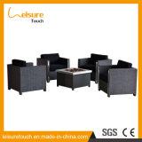 Madeira plástica de vime durável moderno Home/Hotel mesa e cadeira fire pit Jardim Mobiliário de exterior